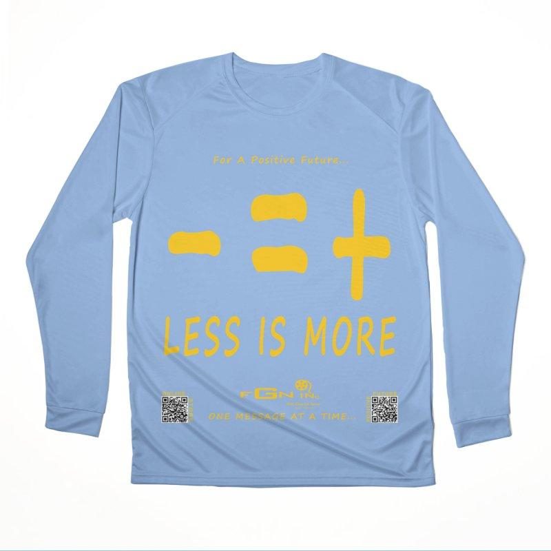 695B - Less Is More Men's Longsleeve T-Shirt by FGN Inc. Online Shop