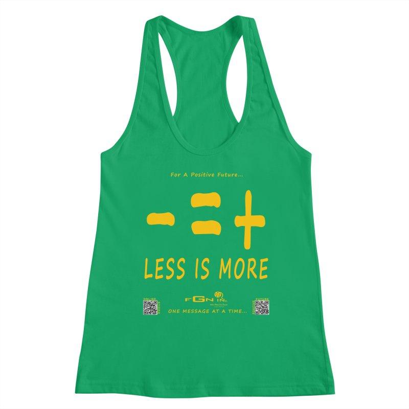 695B - Less Is More Women's Tank by FGN Inc. Online Shop