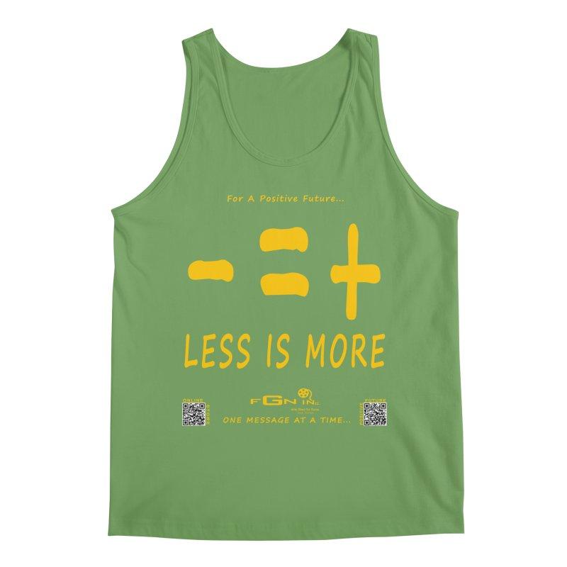 695B - Less Is More Men's Tank by FGN Inc. Online Shop