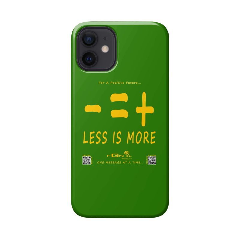 695B - Less Is More Accessories Phone Case by FGN Inc. Online Shop
