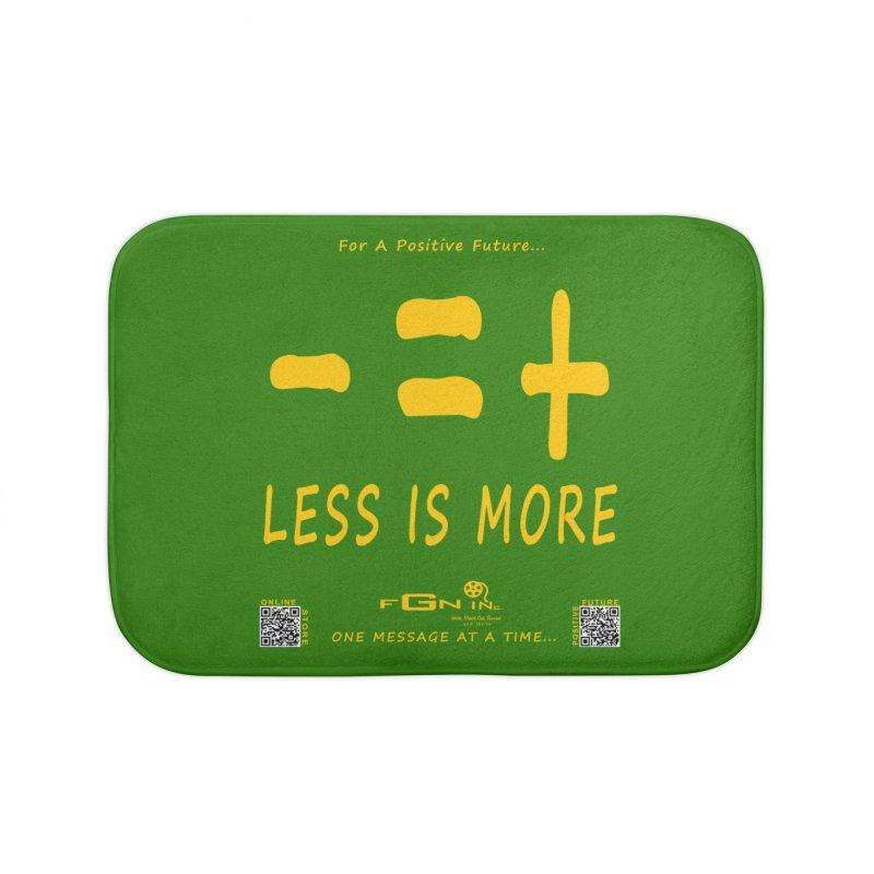 695B - Less Is More Home Bath Mat by FGN Inc. Online Shop