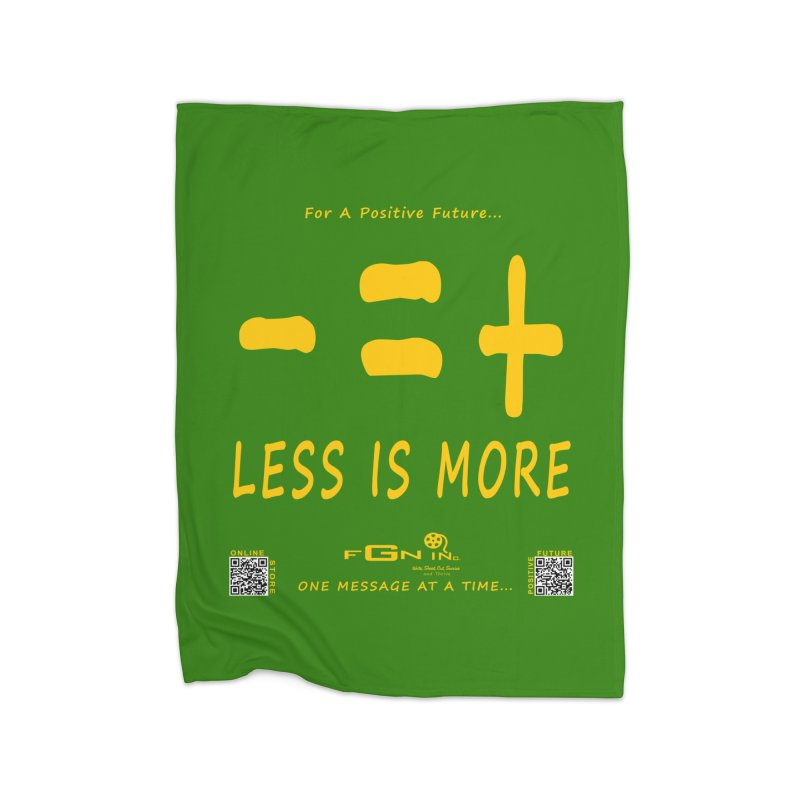 695B - Less Is More Home Blanket by FGN Inc. Online Shop