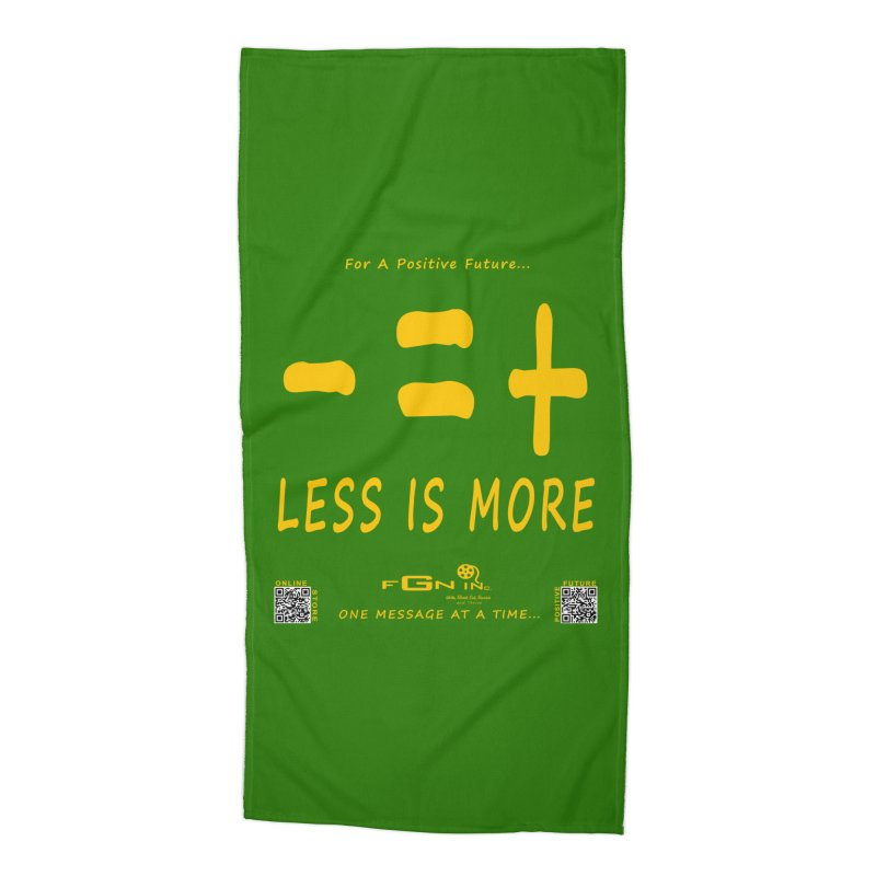 695B - Less Is More Accessories Beach Towel by FGN Inc. Online Shop