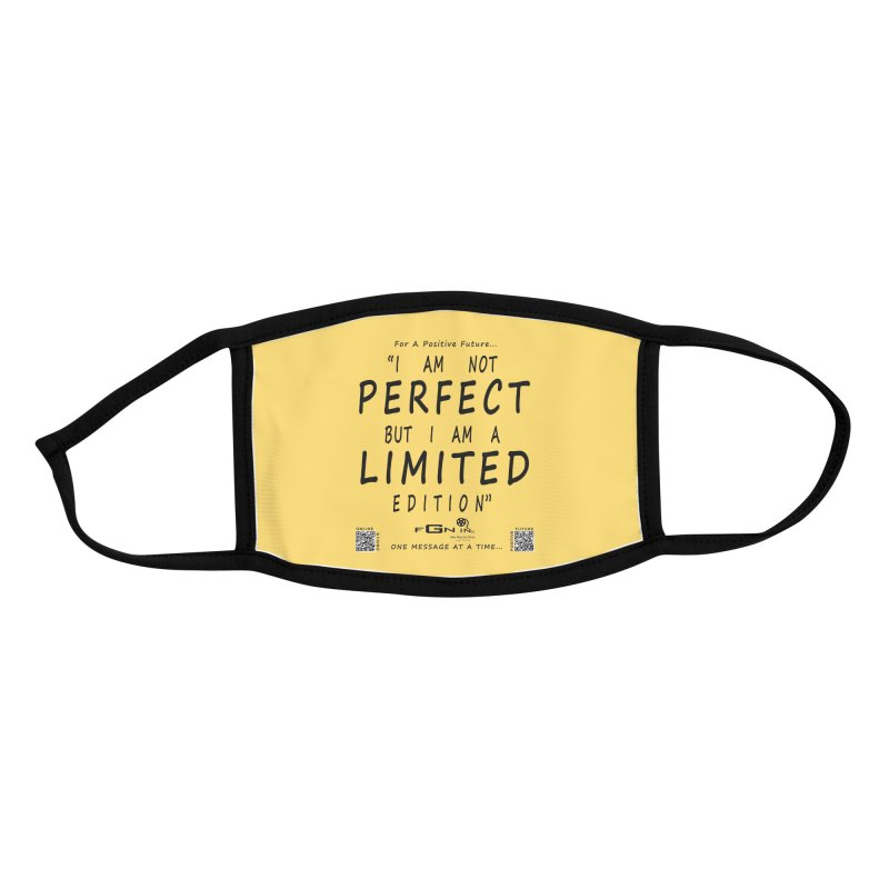 696 - I Am a Limited Edition Accessories Face Mask by FGN Inc. Online Shop