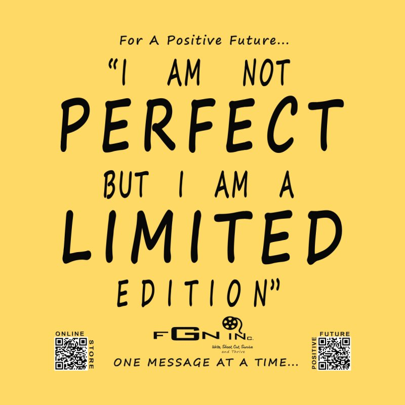 696 - I Am a Limited Edition Accessories Sticker by FGN Inc. Online Shop