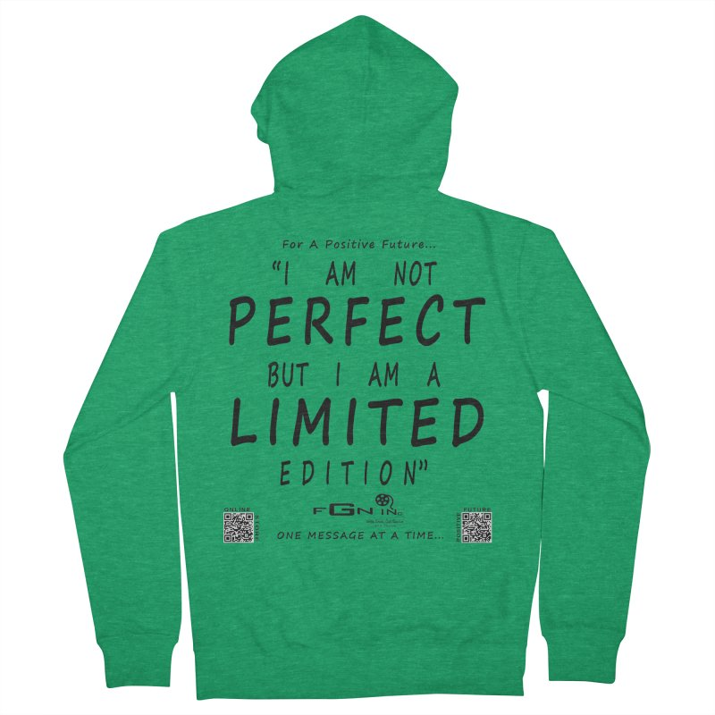 696 - I Am a Limited Edition Women's Zip-Up Hoody by FGN Inc. Online Shop