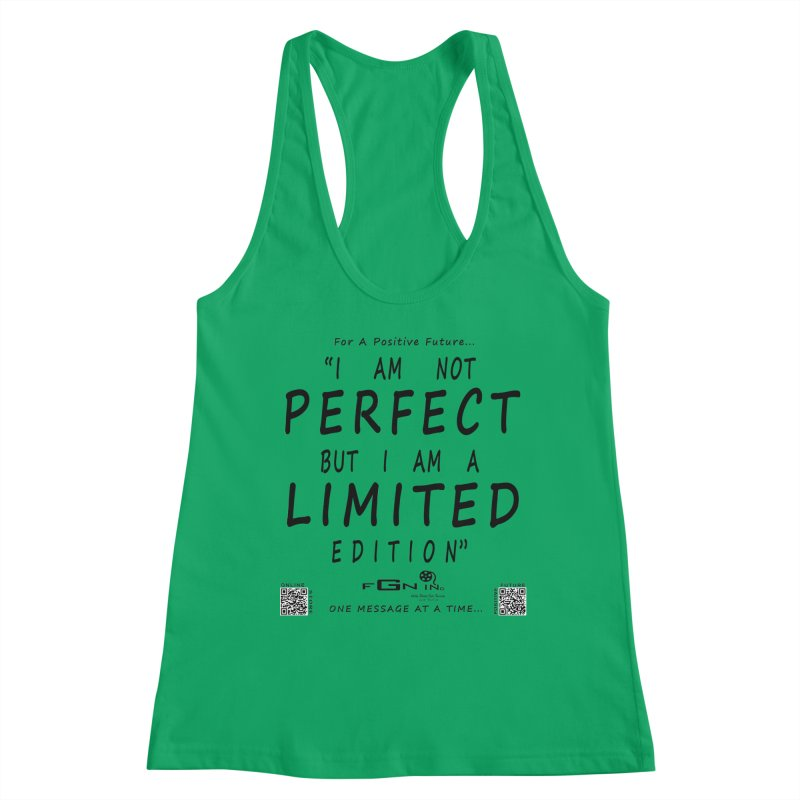 696 - I Am a Limited Edition Women's Tank by FGN Inc. Online Shop