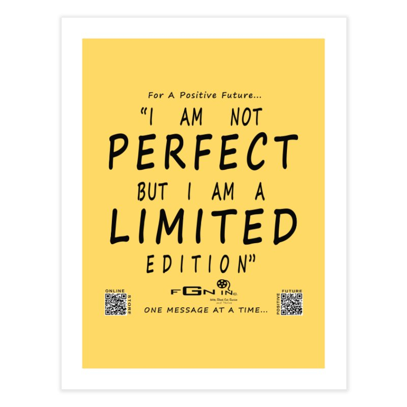 696 - I Am a Limited Edition Home Fine Art Print by FGN Inc. Online Shop