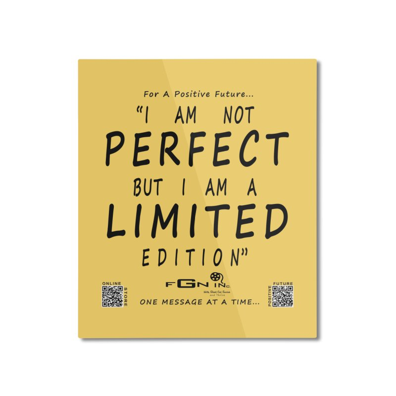 696 - I Am a Limited Edition Home Mounted Aluminum Print by FGN Inc. Online Shop