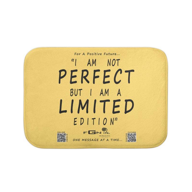 696 - I Am a Limited Edition Home Bath Mat by FGN Inc. Online Shop