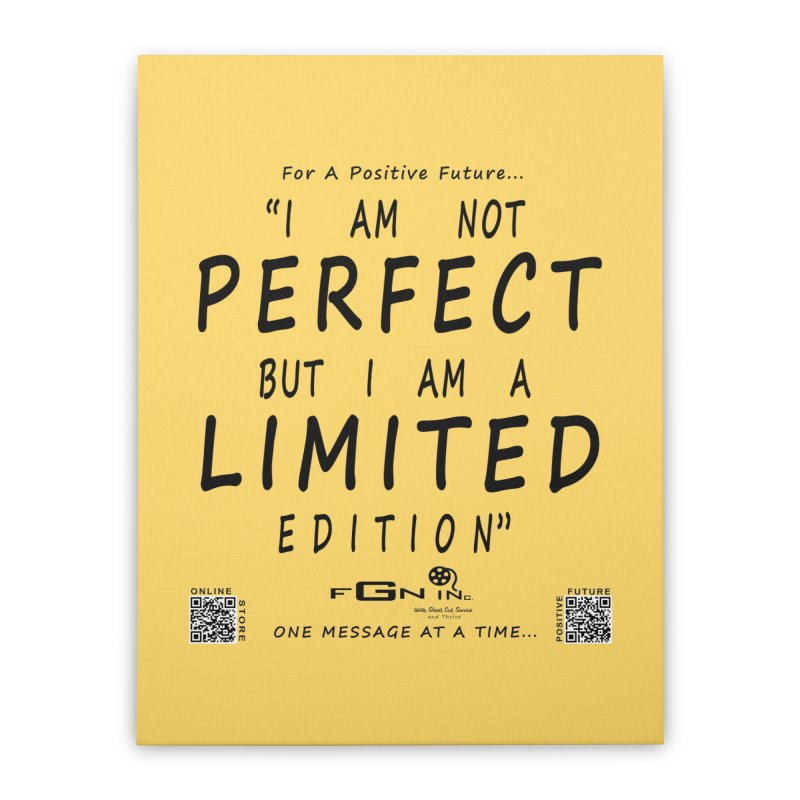 696 - I Am a Limited Edition Home Stretched Canvas by FGN Inc. Online Shop