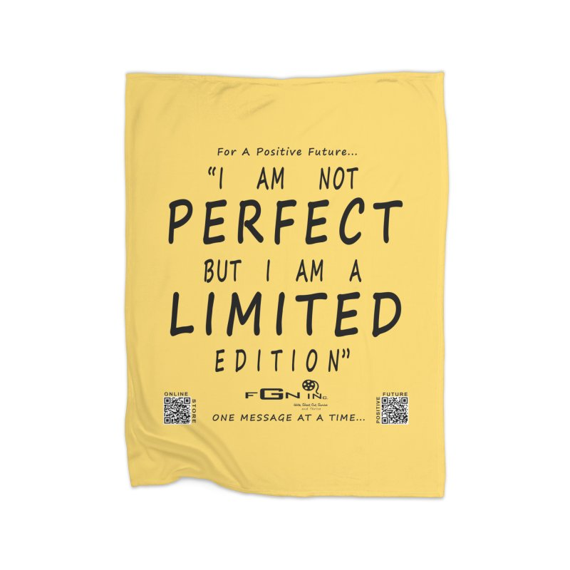 696 - I Am a Limited Edition Home Blanket by FGN Inc. Online Shop