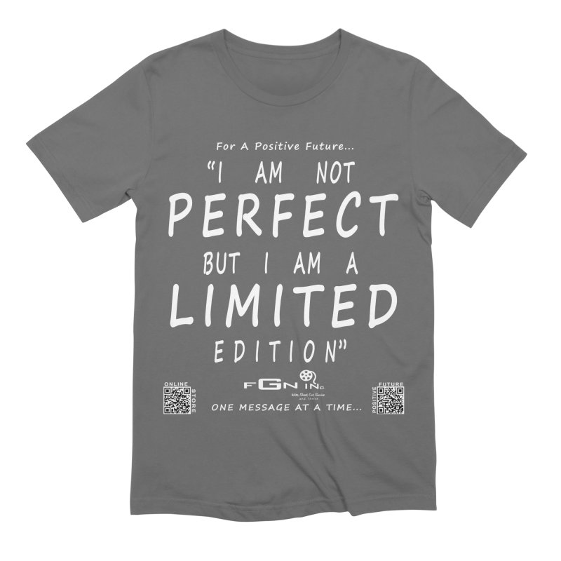 696A - I Am a Limited Edition Men's T-Shirt by FGN Inc. Online Shop