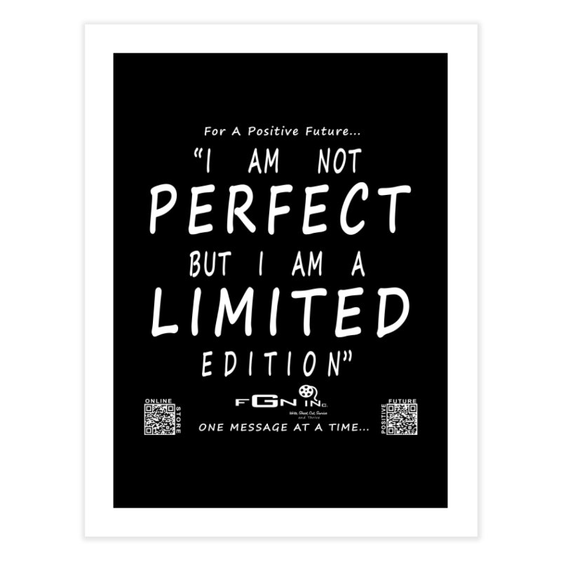 696A - I Am a Limited Edition Home Fine Art Print by FGN Inc. Online Shop