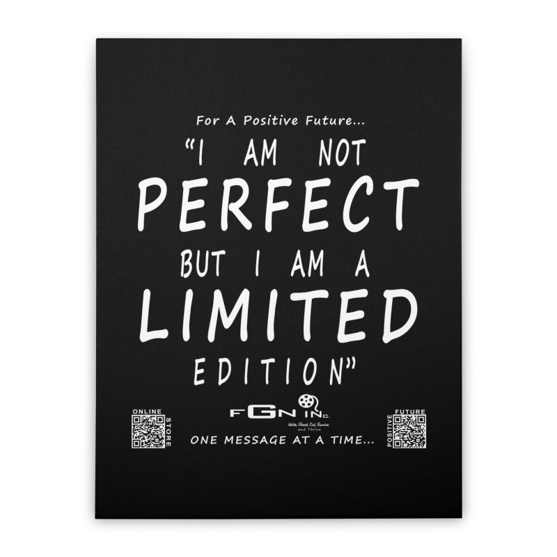 696A - I Am a Limited Edition Home Stretched Canvas by FGN Inc. Online Shop