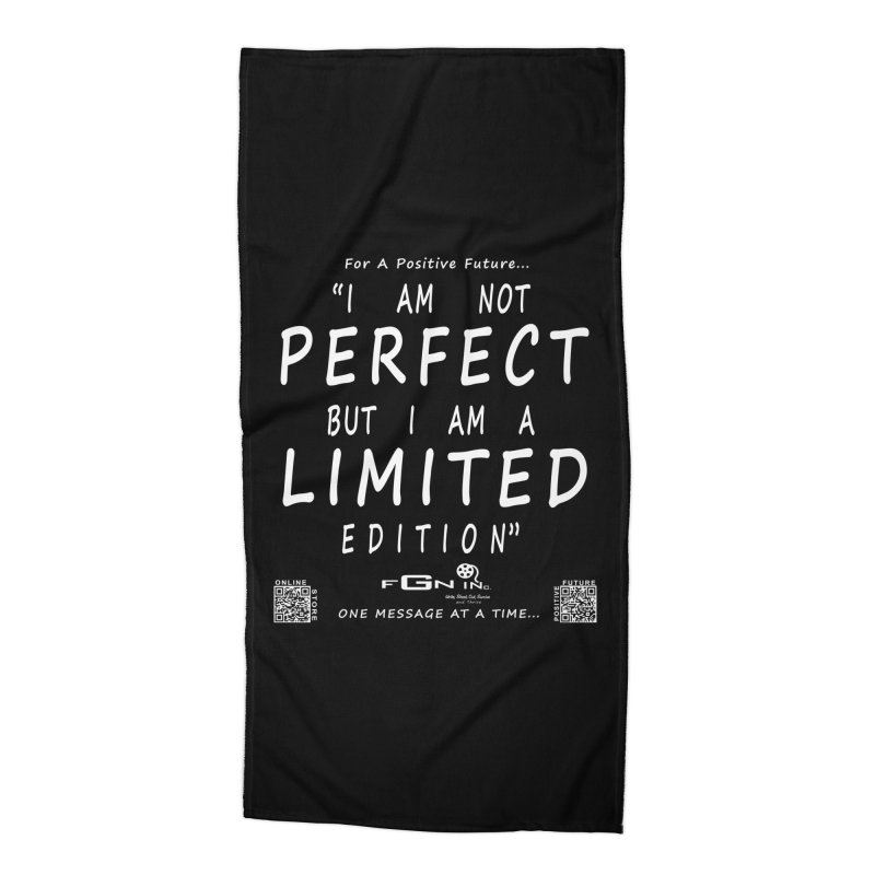 696A - I Am a Limited Edition Accessories Beach Towel by FGN Inc. Online Shop