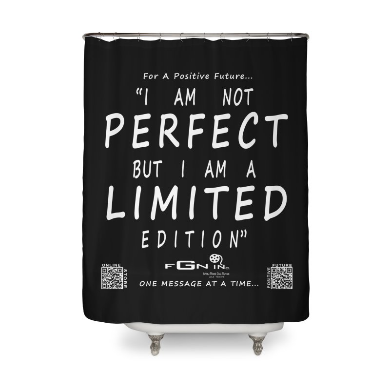 696A - I Am a Limited Edition Home Shower Curtain by FGN Inc. Online Shop