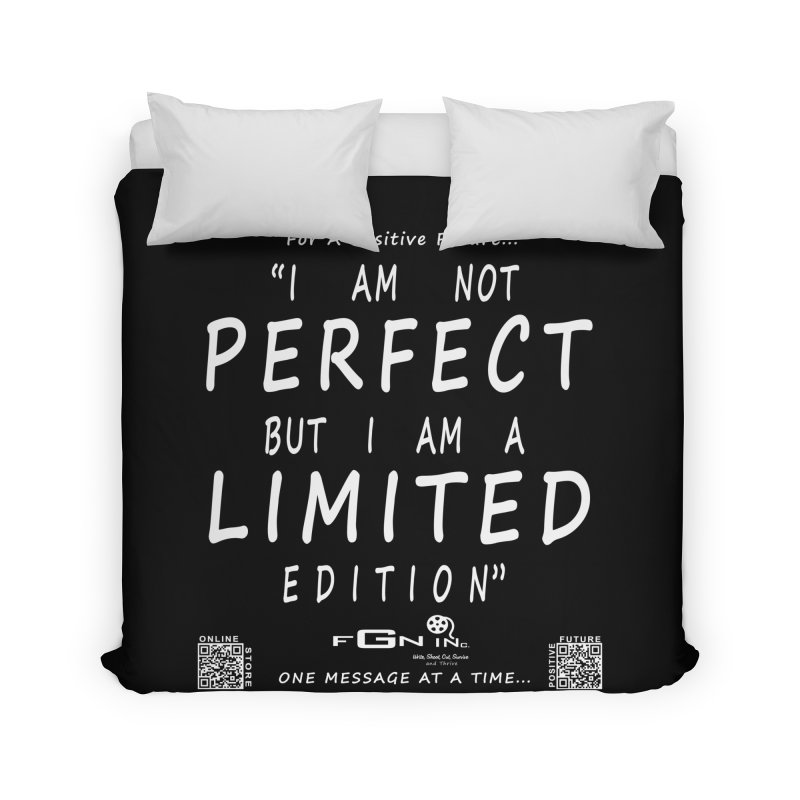 696A - I Am a Limited Edition Home Duvet by FGN Inc. Online Shop