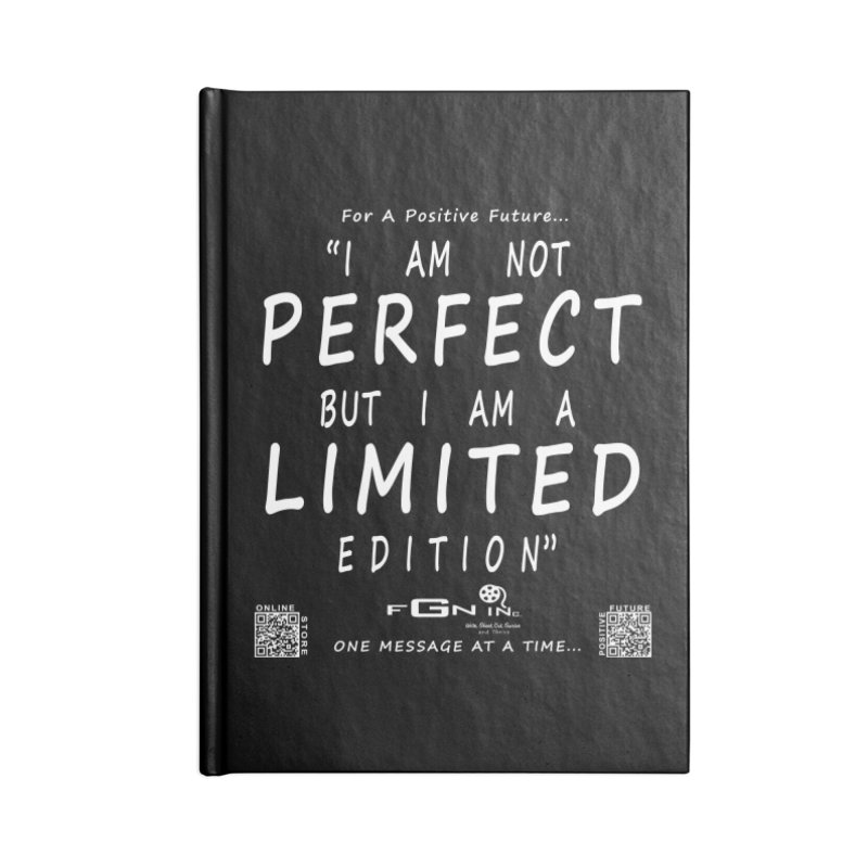 696A - I Am a Limited Edition Accessories Notebook by FGN Inc. Online Shop