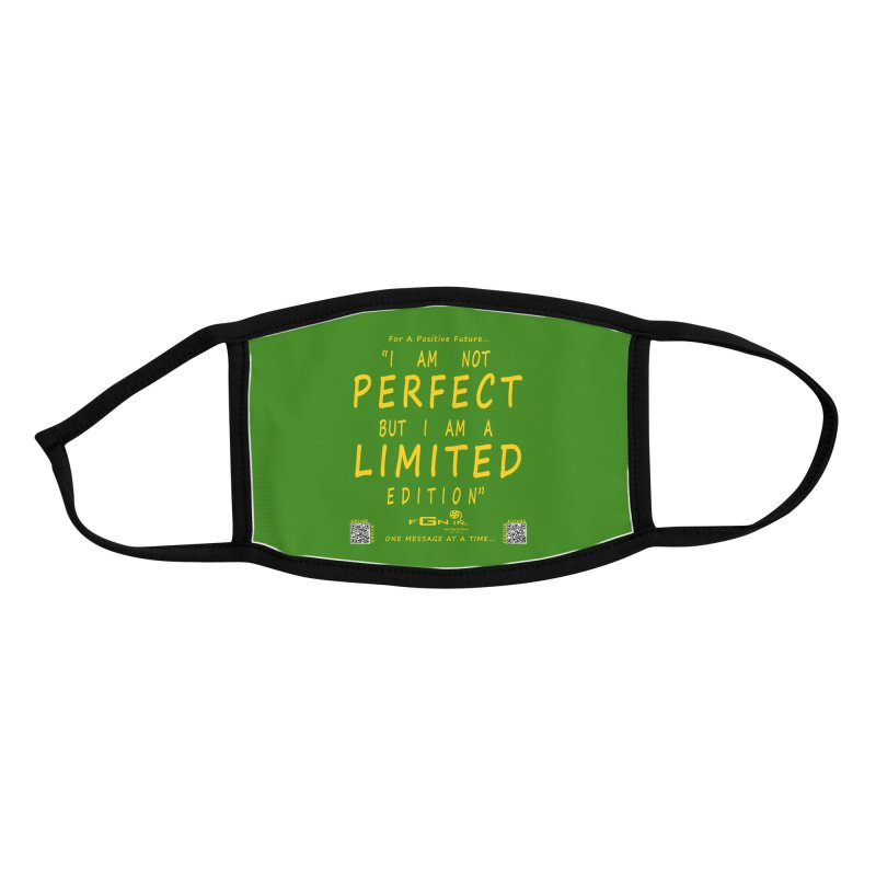 696B - I Am a Limited Edition Accessories Face Mask by FGN Inc. Online Shop