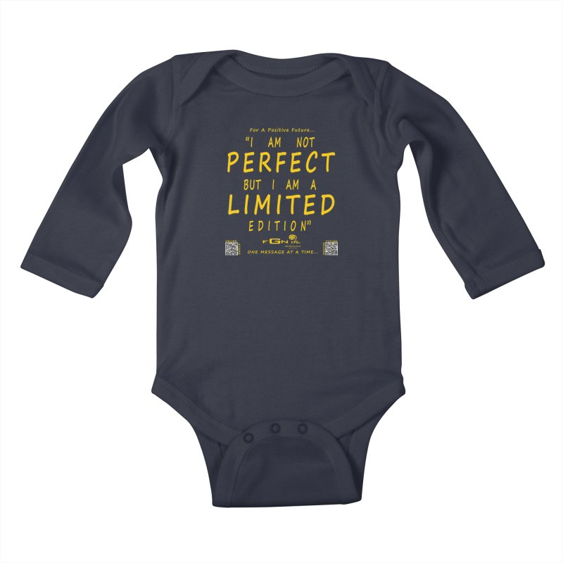 696B - I Am a Limited Edition Kids Baby Longsleeve Bodysuit by FGN Inc. Online Shop