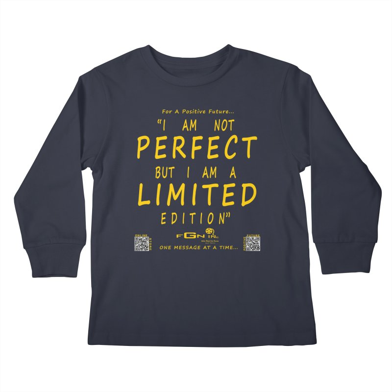 696B - I Am a Limited Edition Kids Longsleeve T-Shirt by FGN Inc. Online Shop