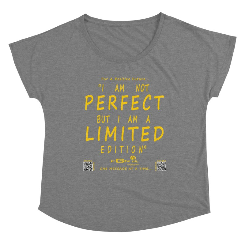 696B - I Am a Limited Edition Women's Scoop Neck by FGN Inc. Online Shop