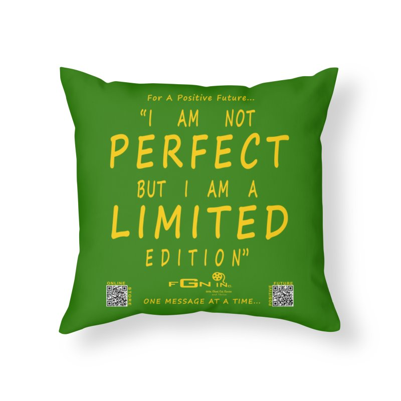 696B - I Am a Limited Edition Home Throw Pillow by FGN Inc. Online Shop