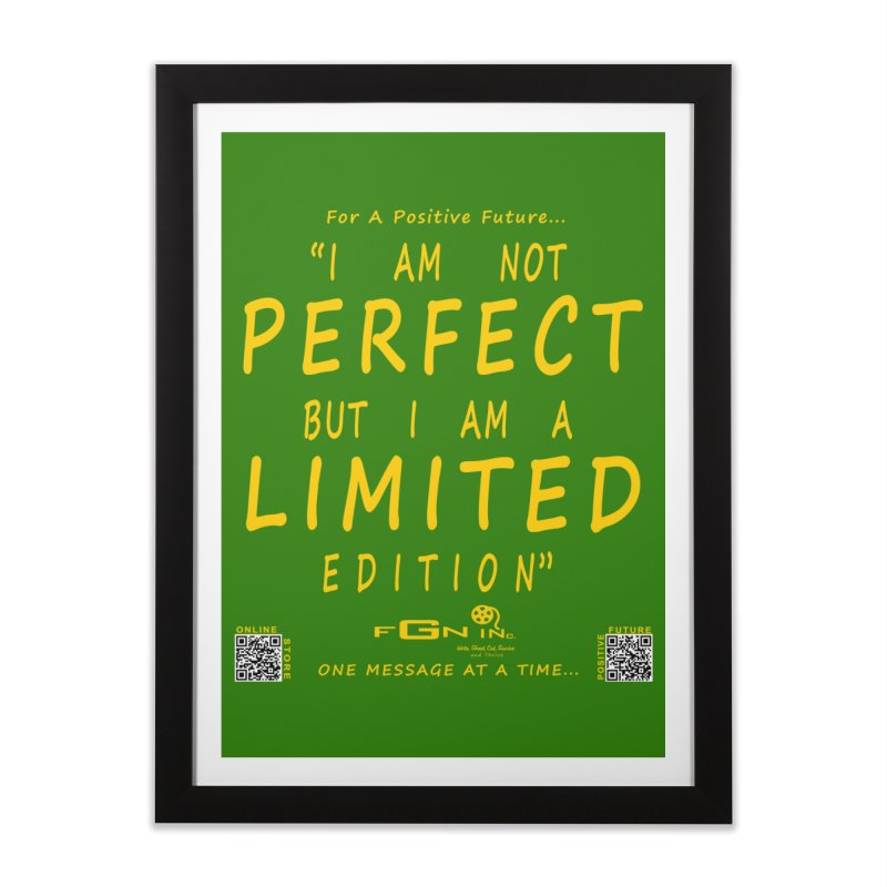 696B - I Am a Limited Edition Home Framed Fine Art Print by FGN Inc. Online Shop