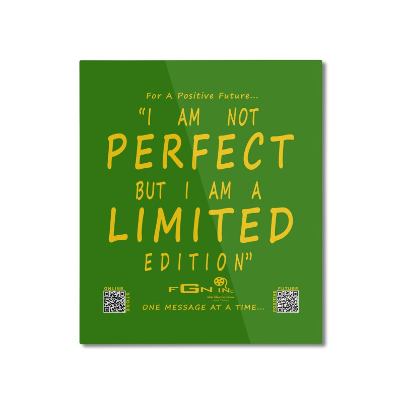 696B - I Am a Limited Edition Home Mounted Aluminum Print by FGN Inc. Online Shop