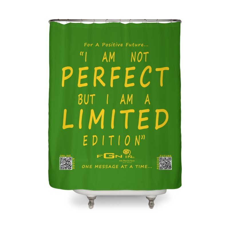 696B - I Am a Limited Edition Home Shower Curtain by FGN Inc. Online Shop
