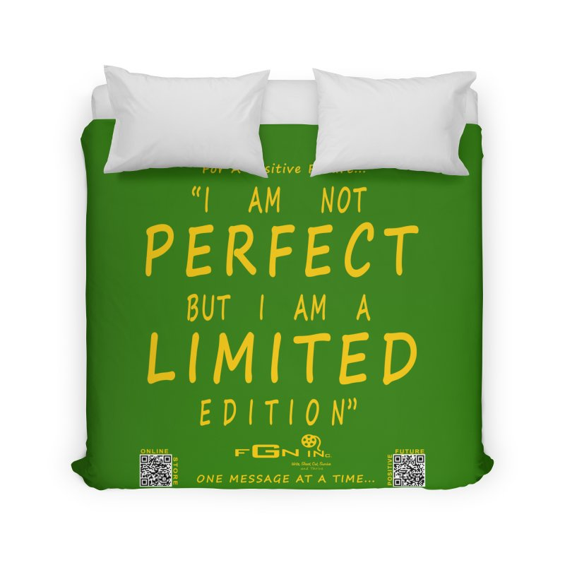 696B - I Am a Limited Edition Home Duvet by FGN Inc. Online Shop