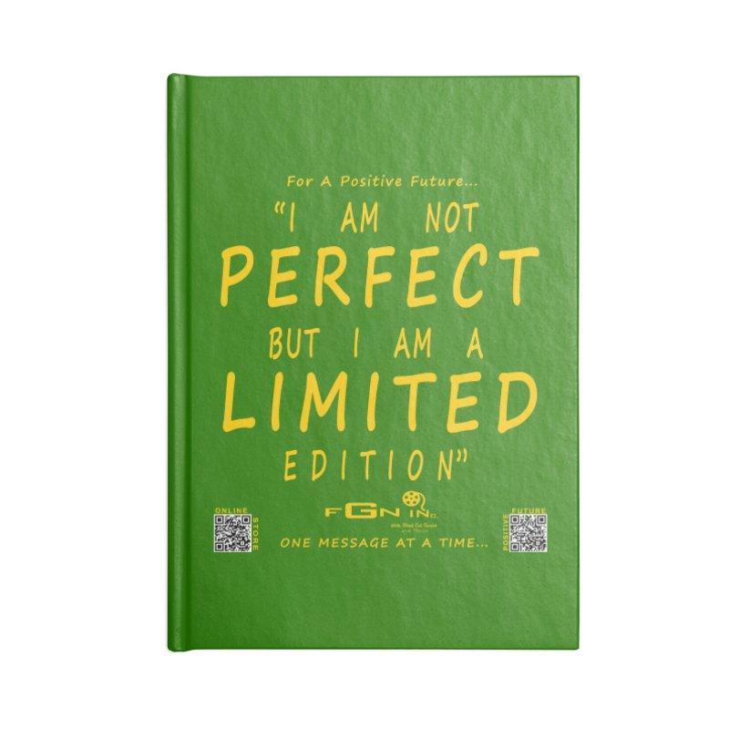 696B - I Am a Limited Edition Accessories Notebook by FGN Inc. Online Shop