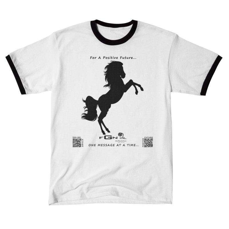 697 - Majestic Stallion Men's T-Shirt by FGN Inc. Online Shop