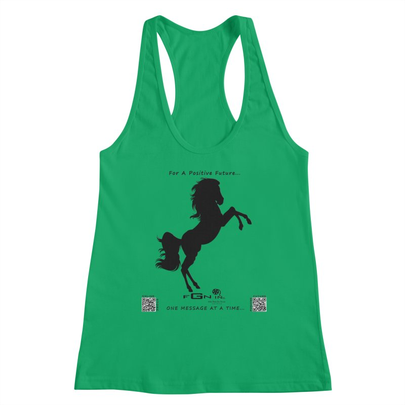 697 - Majestic Stallion Women's Tank by FGN Inc. Online Shop