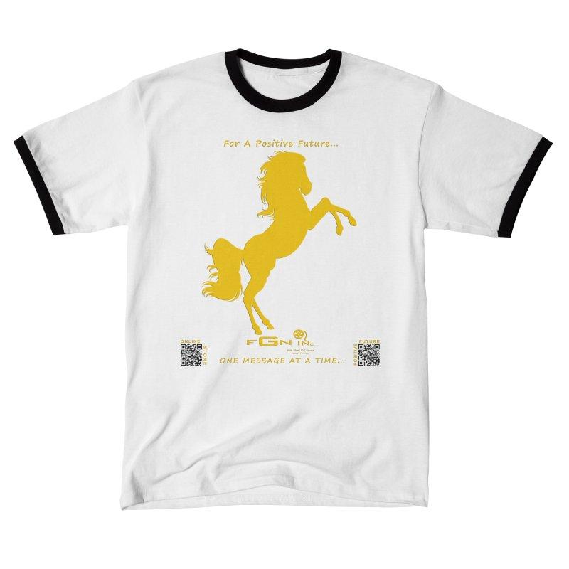697C - Majestic Stallion Men's T-Shirt by FGN Inc. Online Shop