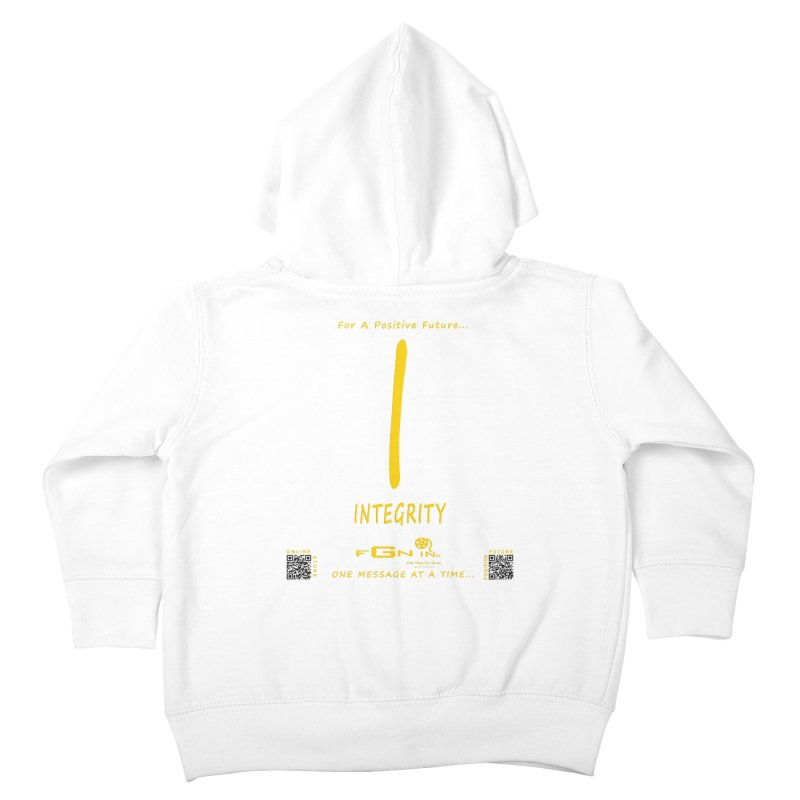 652B - I For Integrity Kids Toddler Zip-Up Hoody by FGN Inc. Online Shop