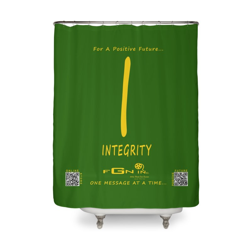 652B - I For Integrity Home Shower Curtain by FGN Inc. Online Shop