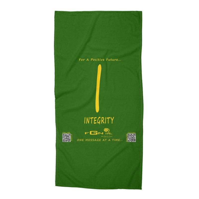652B - I For Integrity Accessories Beach Towel by FGN Inc. Online Shop