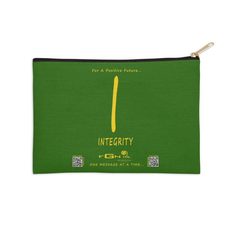 652B - I For Integrity Accessories Zip Pouch by FGN Inc. Online Shop