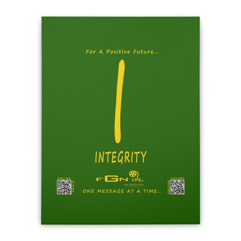 652B - I For Integrity Home Stretched Canvas by FGN Inc. Online Shop