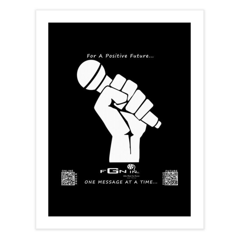 653A - Your Voice Matters Home Fine Art Print by FGN Inc. Online Shop