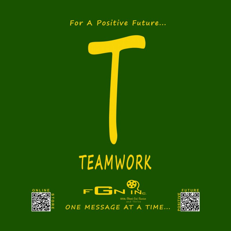 656B - T For Teamwork   by FGN Inc. Online Shop