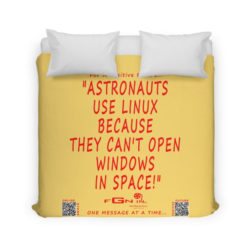 708C - Astronauts In Space Home Duvet by FGN Inc. Online Shop