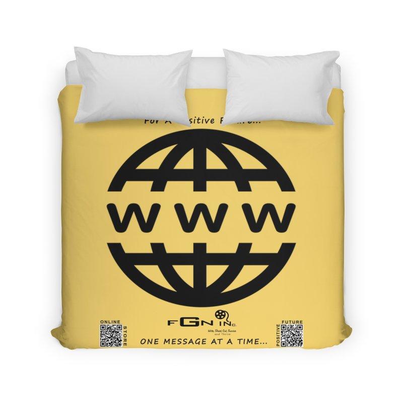 709 - World Wide Web Home Duvet by FGN Inc. Online Shop