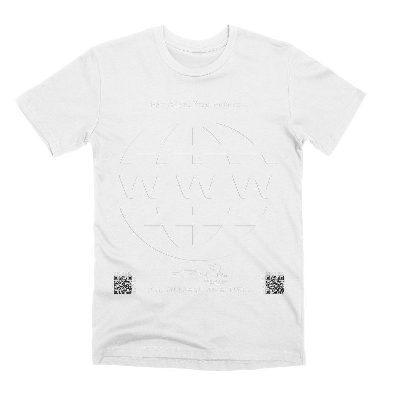 709A - World Wide Web Men's T-Shirt by FGN Inc. Online Shop
