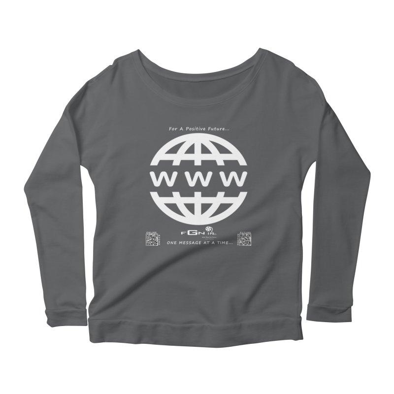 709A - World Wide Web Women's Longsleeve T-Shirt by FGN Inc. Online Shop