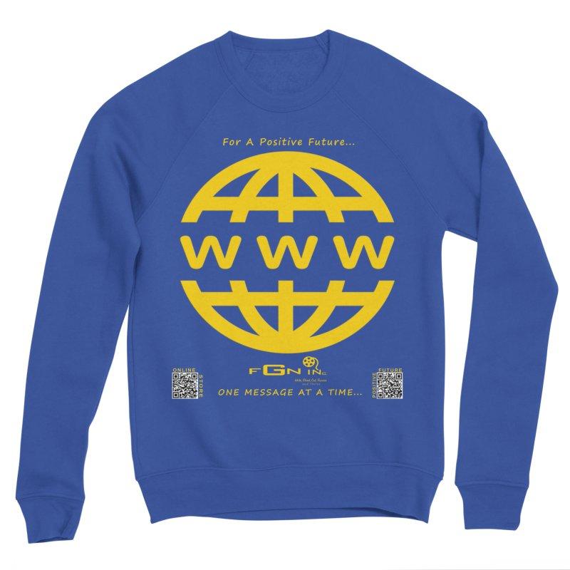 709B - World Wide Web Men's Sweatshirt by FGN Inc. Online Shop