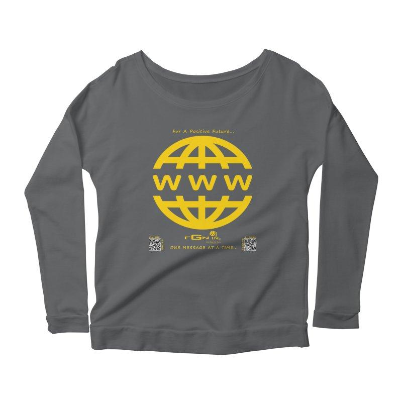 709B - World Wide Web Women's Longsleeve T-Shirt by FGN Inc. Online Shop