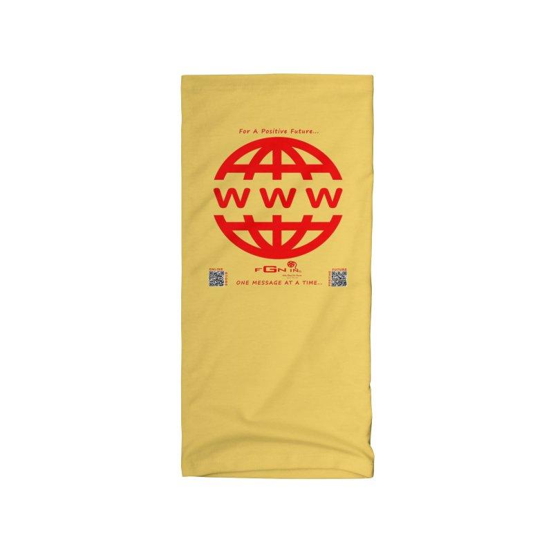 709C - World Wide Web Accessories Neck Gaiter by FGN Inc. Online Shop